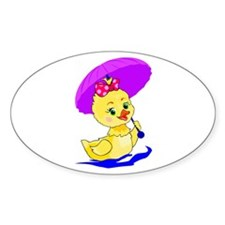 Pretty Ducky Decal