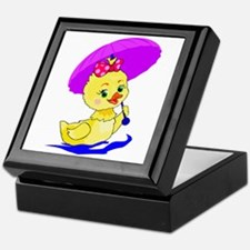 Pretty Ducky Keepsake Box