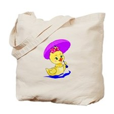 Pretty Ducky Tote Bag