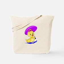 Pretty Ducky Tote Bag