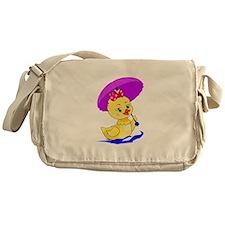 Pretty Ducky Messenger Bag