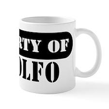 Property of Rodolfo Coffee Mug
