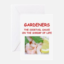 gardener Greeting Cards
