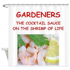 gardener Shower Curtain