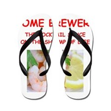 home brewer Flip Flops