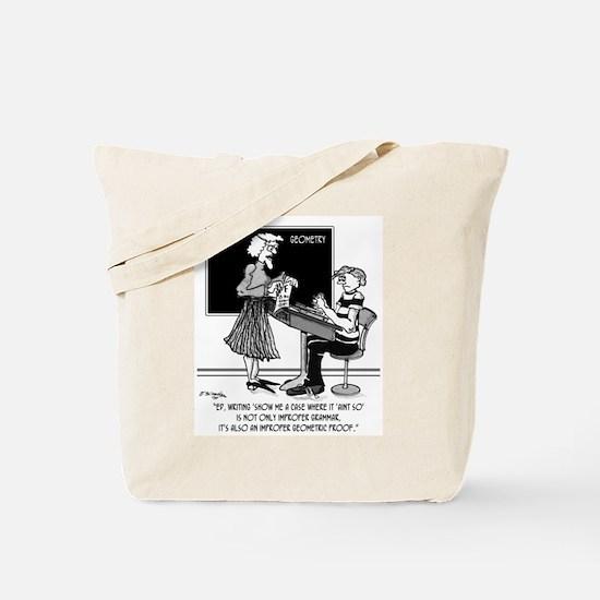 Geometric Proof Tote Bag