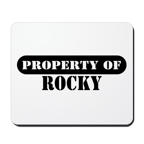 Property of Rocky Mousepad