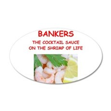 banker Wall Decal