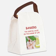 banker Canvas Lunch Bag