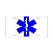 Star of Life Aluminum License Plate