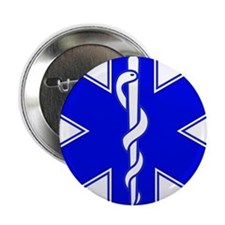 "Star of Life 2.25"" Button (10 pack)"
