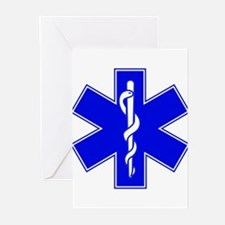 Star of Life Greeting Cards