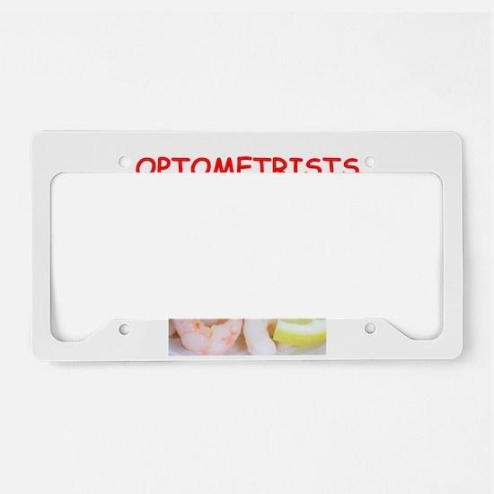 optometrist License Plate Holder