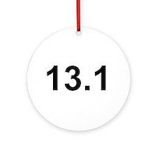 Half Marathon 13.1 Ornament (Round)