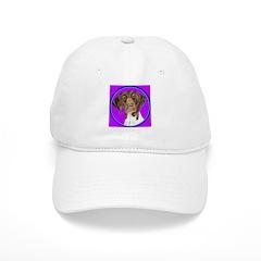 German Shorthair Pointer Head Baseball Cap