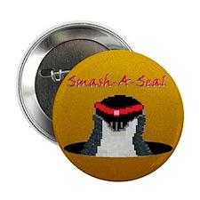 """Smash-A-Seal Penguin 2.25"""" Button"""