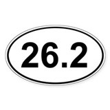 26.2 sticker Single
