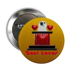 """Smash-A-Seal Seal Lover 2.25"""" Button"""