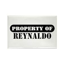 Property of Reynaldo Rectangle Magnet