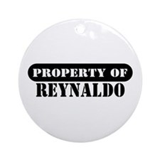 Property of Reynaldo Ornament (Round)