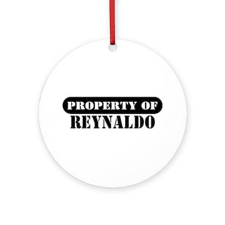 Property of Reynaldo Ornament (Round)