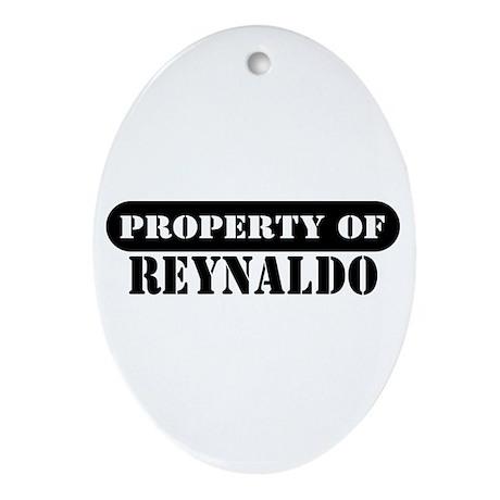 Property of Reynaldo Oval Ornament
