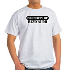Property of Reynaldo Ash Grey T-Shirt