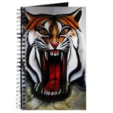 3D Lion Art Journal