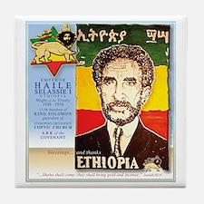 Haile Selassie I Tile Coaster