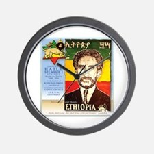 Haile Selassie I Wall Clock