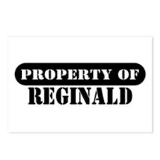 Property of Reginald Postcards (Package of 8)