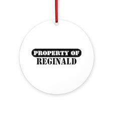 Property of Reginald Ornament (Round)