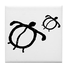 AbOriginalz Petroglyph Turtle Tile Coaster