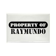 Property of Raymundo Rectangle Magnet
