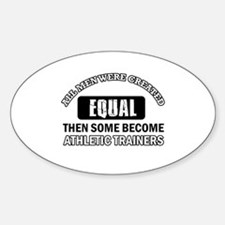 Cool Athletic Trainers designs Decal