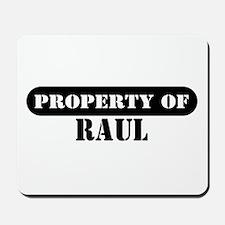 Property of Raul Mousepad