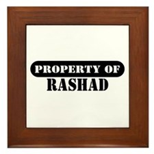 Property of Rashad Framed Tile