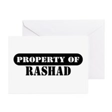Property of Rashad Greeting Cards (Pk of 10)