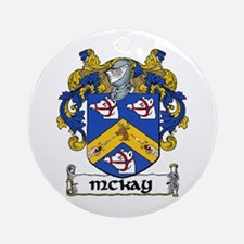 McKay Coat of Arms Ornament (Round)
