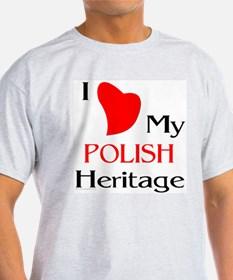 Polish Heritage Ash Grey T-Shirt