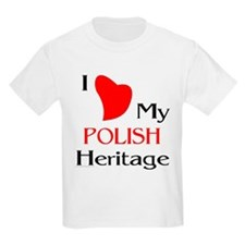 Polish Heritage Kids T-Shirt