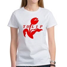 Red Tulip Tee