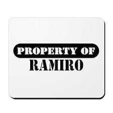 Property of Ramiro Mousepad