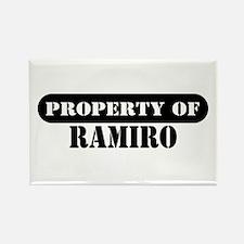 Property of Ramiro Rectangle Magnet