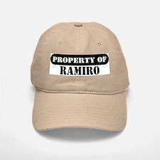 Property of Ramiro Baseball Baseball Cap