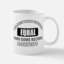 Cool Archivists designs Mug
