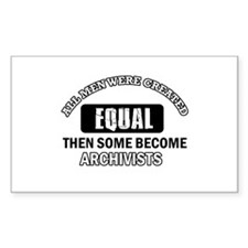 Cool Archivists designs Decal