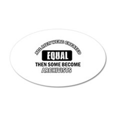 Cool Archivists designs Wall Decal