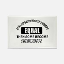 Cool Archivists designs Rectangle Magnet