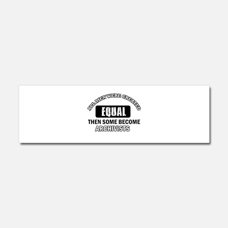 Cool Archivists designs Car Magnet 10 x 3